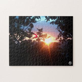Beautiful Sunset Puzzle