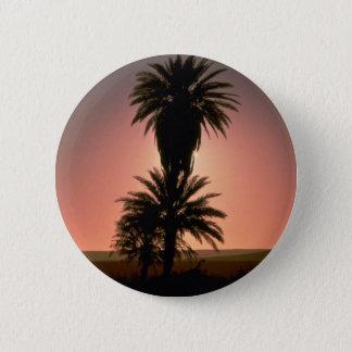 Beautiful Sunset: Sahara Desert, Algeria 2 Inch Round Button
