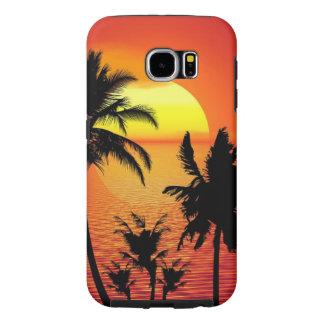 Beautiful sunset samsung galaxy s6 case