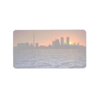 Beautiful Sunset: Toronto skyline at sunset, Ontar