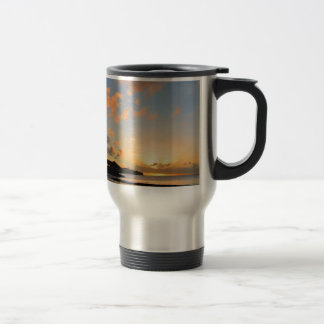 Beautiful sunset travel mug