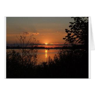 Beautiful Sunsets Card