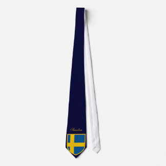 Beautiful Sweden Flag Tie