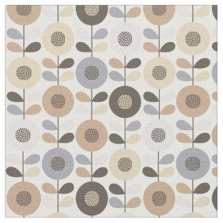 Beautiful swedish floral seamless pattern fabric