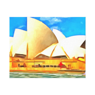 Beautiful Sydney Opera House Canvas Print