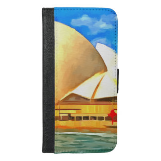 Beautiful Sydney Opera House iPhone 6/6s Plus Wallet Case