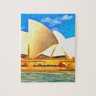 Beautiful Sydney Opera House Jigsaw Puzzle