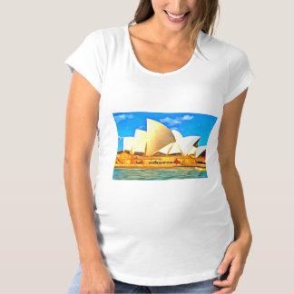 Beautiful Sydney Opera House Maternity T-Shirt