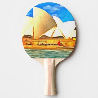 Beautiful Sydney Opera House Ping-Pong Paddle