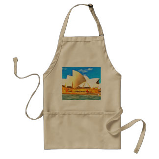 Beautiful Sydney Opera House Standard Apron