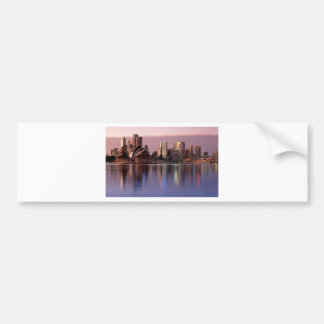 Beautiful Sydney Skyline Bumper Sticker