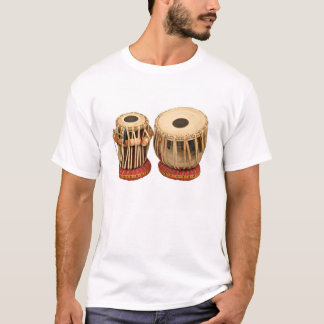 Beautiful Tabla Set Indian Percussion Instrument T-Shirt