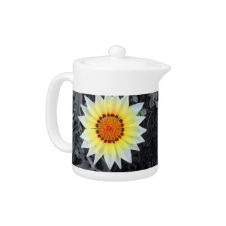Beautiful Tea Pot with pretty flower on the front