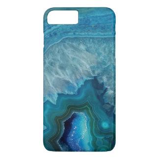 Beautiful Teal Blue Agate Stone Case-Mate iPhone Case