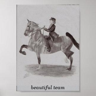 beautiful team poster