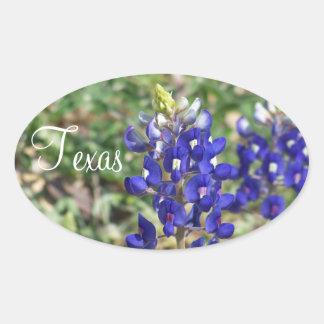 Beautiful Texas Bluebonnet Wildflower Sticker