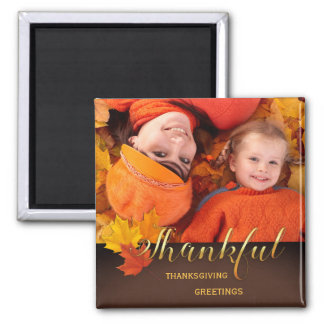 Beautiful Thanksgiving Photo Magnet