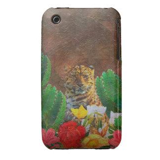Beautiful Tiger Cactus Flowers iPhone 3 Cases