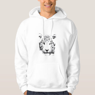 Beautiful Tiger Hooded Pullover