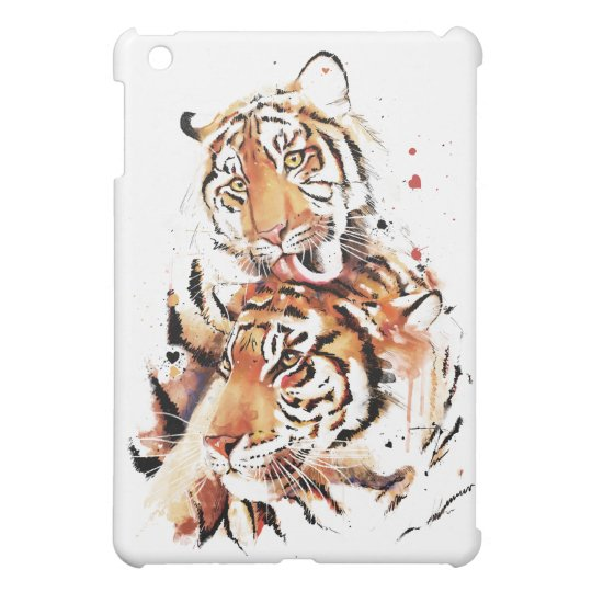 Beautiful tigers, big cats cover for the iPad mini