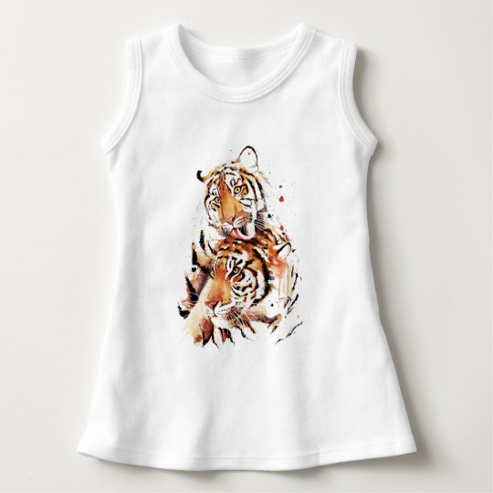 Beautiful tigers, big cats dress