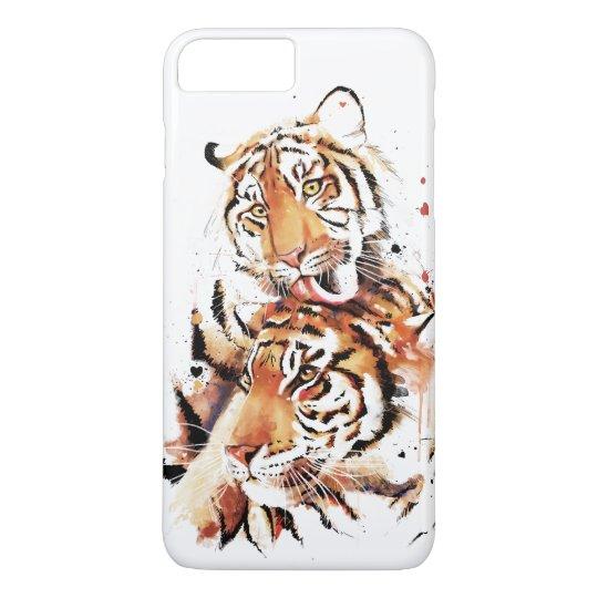 Beautiful tigers, big cats iPhone 7 plus case