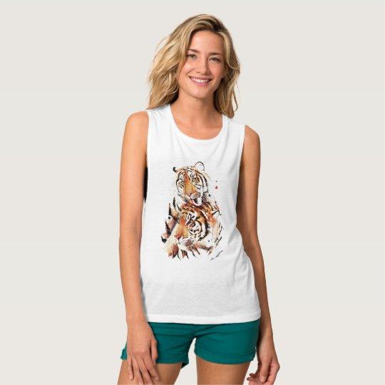 Beautiful tigers, big cats tank top