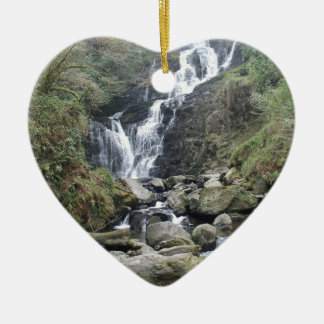 Beautiful Torc Waterfall, Killarney Ireland Ceramic Ornament