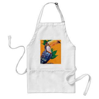 Beautiful Toucan Bird Painting Standard Apron
