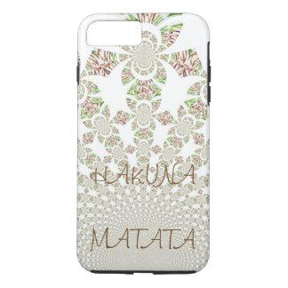 Beautiful Tough iPhone 7 plus HakunaMatata Stylish iPhone 8 Plus/7 Plus Case