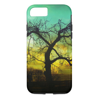 Beautiful Tree Silhouette Sunset iPhone 7 Case