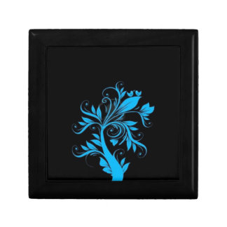 beautiful tree with hearts and birds jewelry box