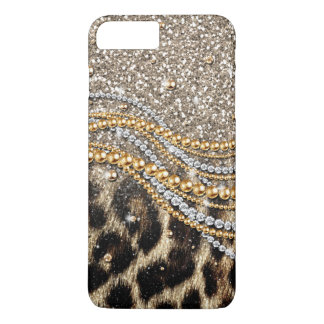 Beautiful trendy leopard faux animal print Case-Mate iPhone case