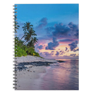 Beautiful Tropical Beach Bliss Notebooks