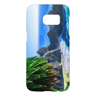 Beautiful Tropical Island Beach Samsung Galaxy S7 Case