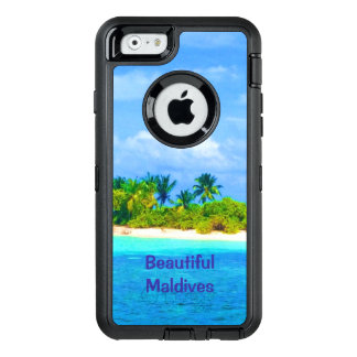 Beautiful Tropical Island in the Maldives OtterBox iPhone 6/6s Case