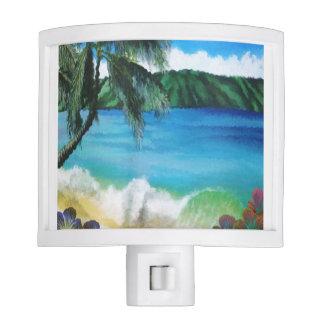 Beautiful Tropical Ocean Scene Nite Lite