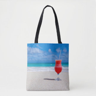 Beautiful Tropical Punch Daiquiri Caribbean Beach Tote Bag