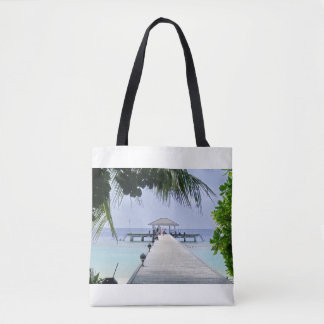Beautiful Tropical Sea Tote Bag