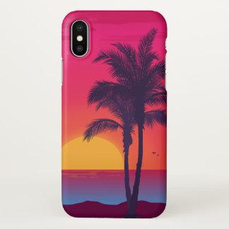 Beautiful Tropical Summer Beach iPhone X Case