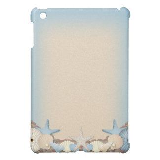 Beautiful Tropical Theme Beach Shells iPad Mini Covers