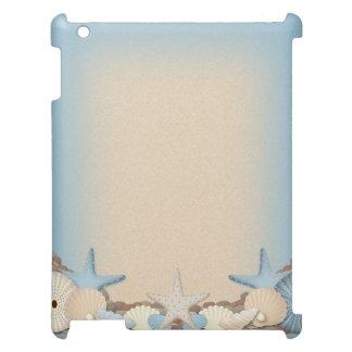Beautiful Tropical Theme Beach Shells Case For The iPad 2 3 4
