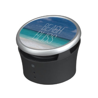 Beautiful Turquoise Beach Bliss Bluetooth Speaker