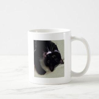 Beautiful Tuxedo cat Coffee Mug