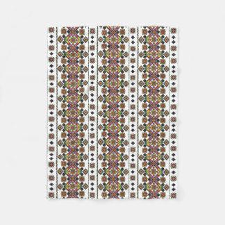 Beautiful Ukrainian Art Fleece Blanket