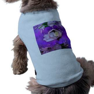 beautiful, ultra violet, abstract,collage,silver,f shirt