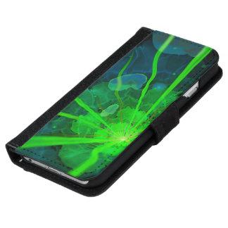 Beautiful Underwater Fractal Flower of Atlantis iPhone 6 Wallet Case