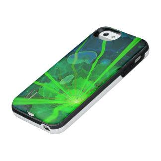 Beautiful Underwater Fractal Flower of Atlantis iPhone SE/5/5s Battery Case