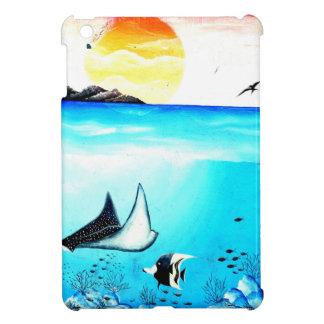 Beautiful Underwater Scene Painting Cover For The iPad Mini
