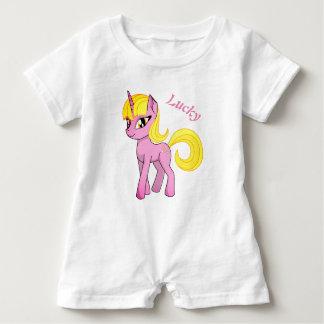 Beautiful Unicorn Baby Romper